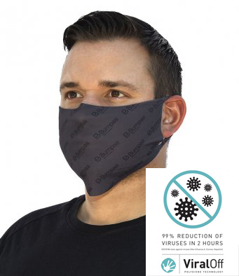 Reusable Anti-Viral Anti-Bacterial Face Mask (3 pack)