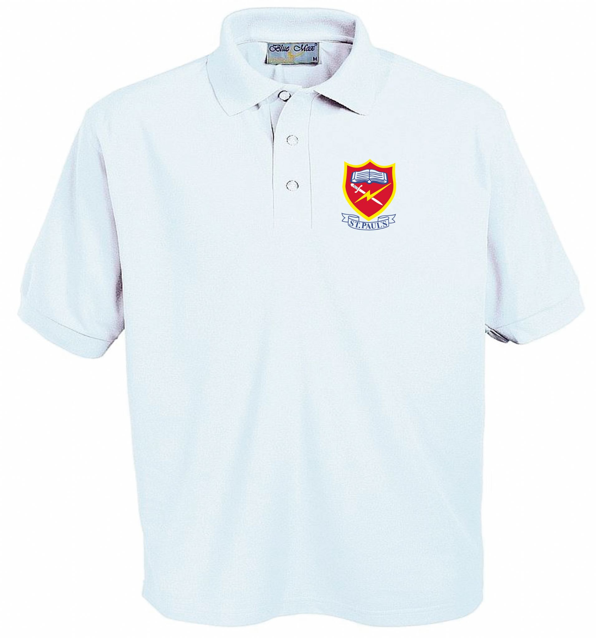St Paul S Embroidered Polo Shirts